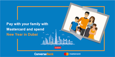 Pay with Mastercard with your family and spend New Year in Dubai