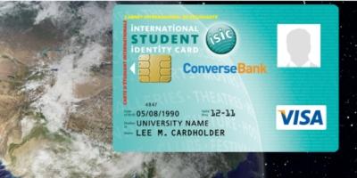 ISIC Visa Card